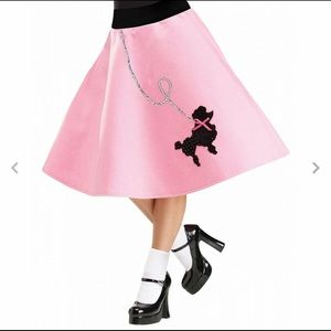 Dresses & Skirts - New In Bag Pink Poodle Skirt